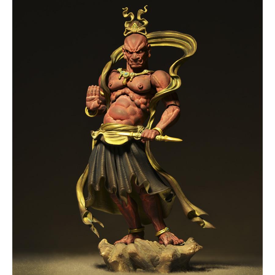 Kaiyodo Revoltech Takeya Buddhism Karura From Japan New