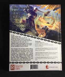 R Talsorian Games Full Color Hardcover THE WITCHER RPG