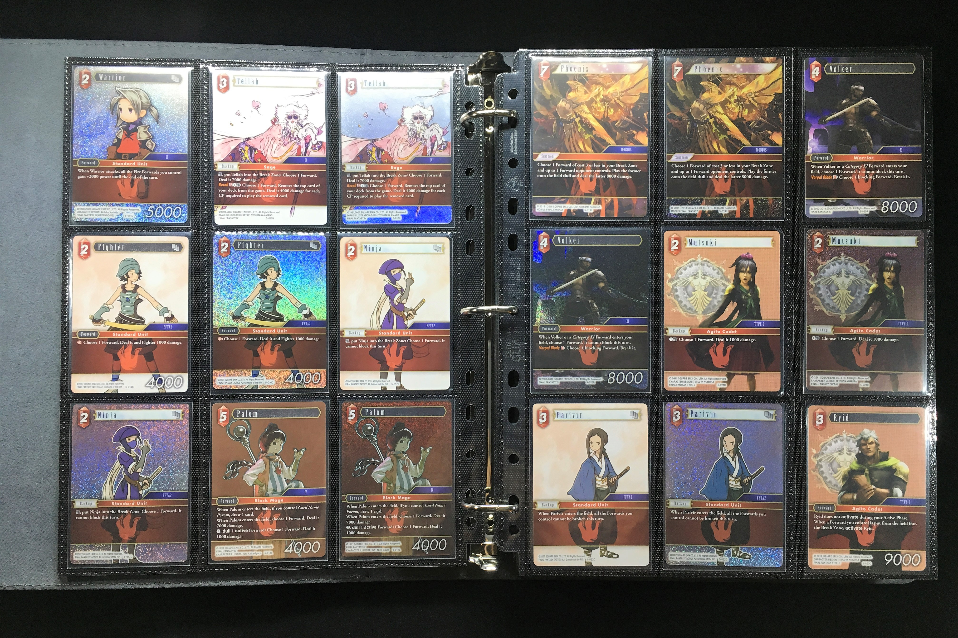 PRE-ORDER 2020 Final Fantasy TCG Opus 11 XI Complete Foil Set Starters