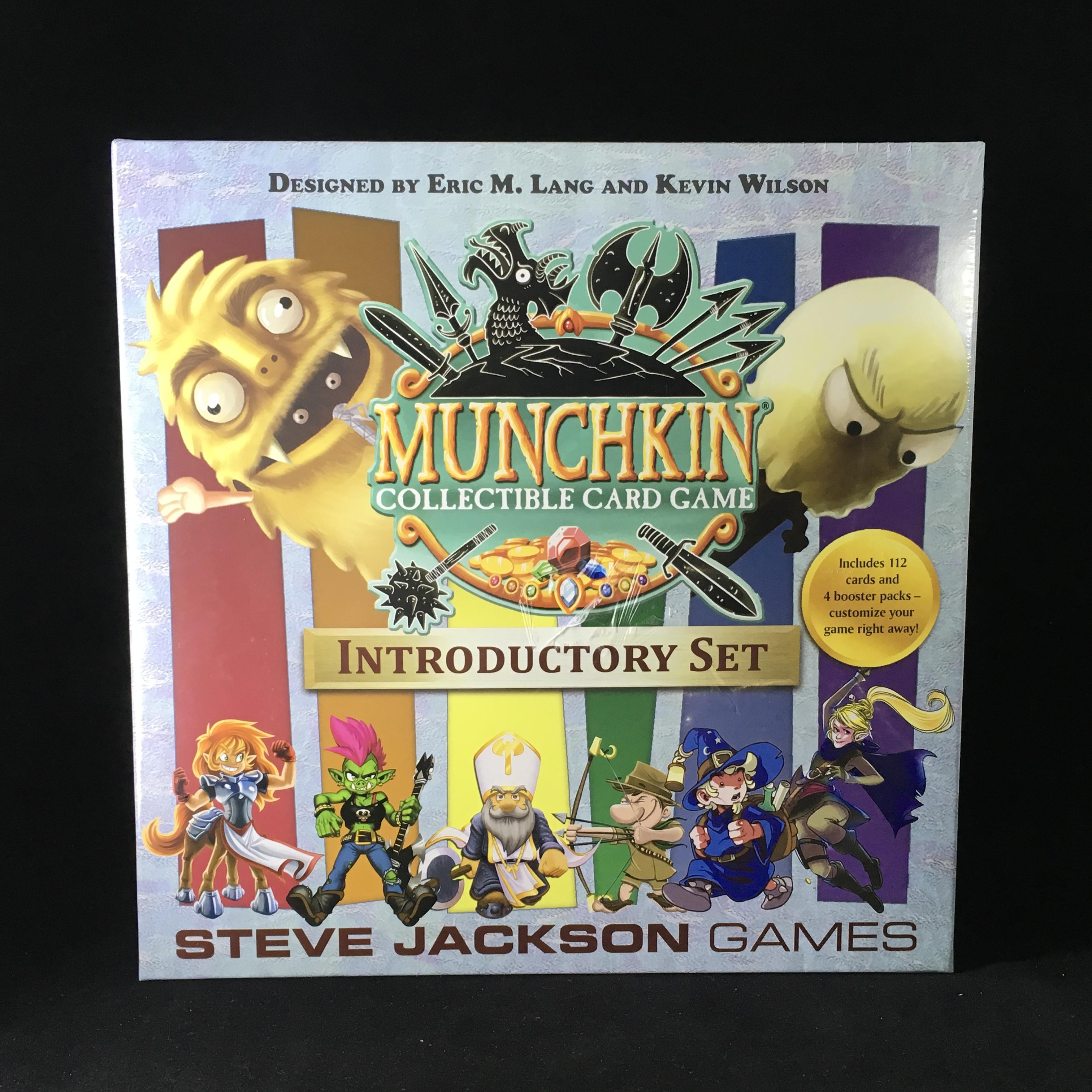 Munchkin Penny Arcade Expansion 2012 Steve Jackson Games